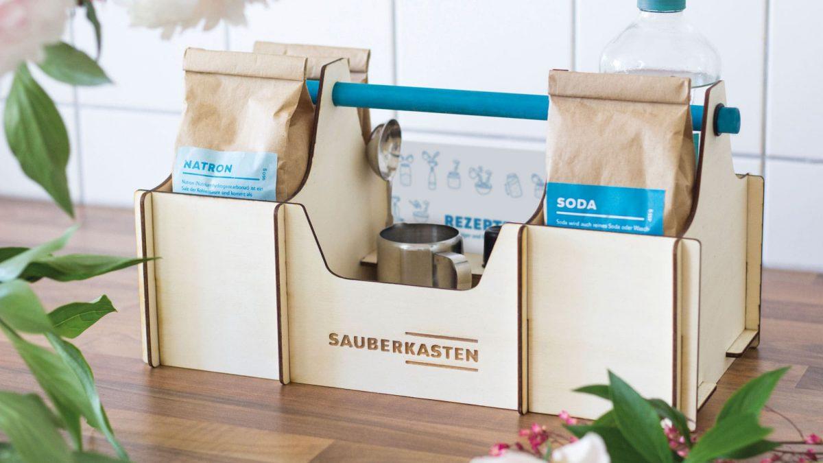 Sauberkasten Inhalt Natron Putzmittel // HIMBEER