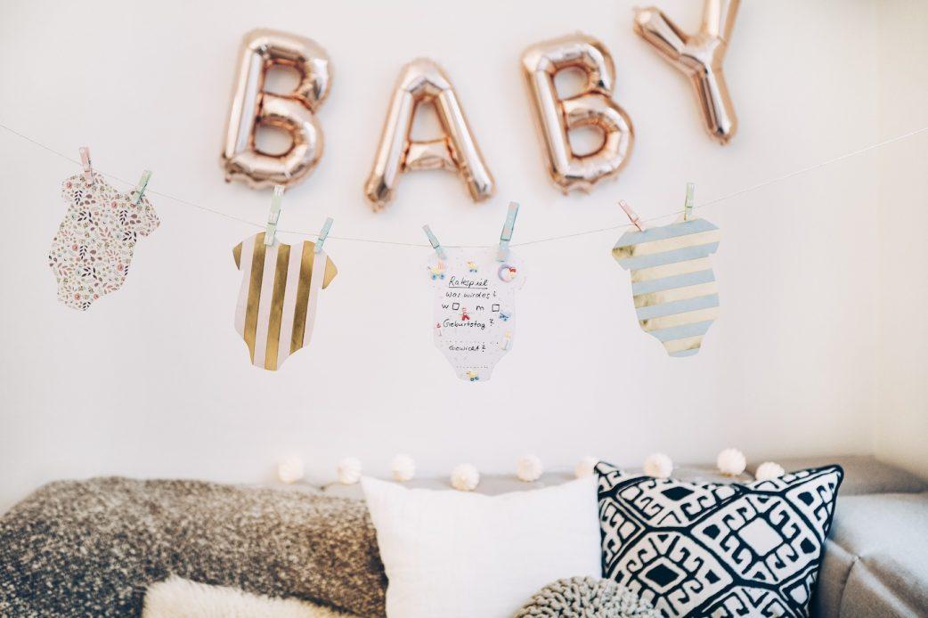 DIY ideas for your baby shower // PeerDIY