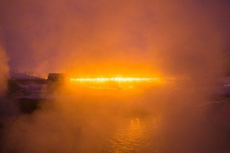 Naturbad Island Dampf // HIMBEER