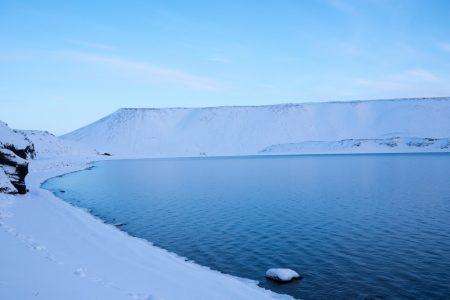 Blauer See auf Island // HIMBEER