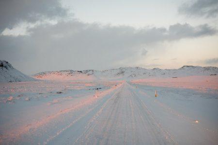 Winterlandschaft Island // HIMBEER