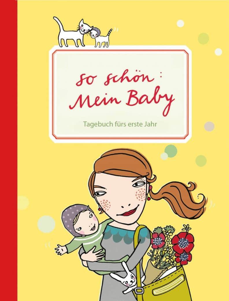 Geschenke zur Geburt: Babytagebuch von Silke Schmidt // HIMBEER