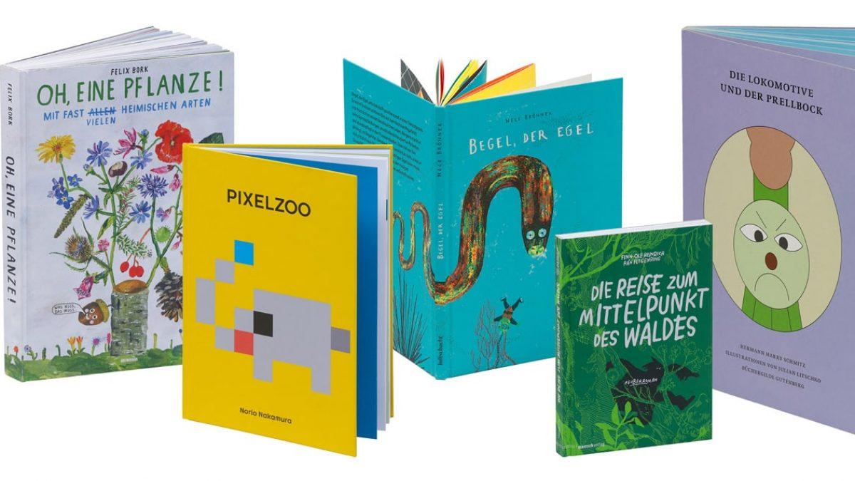 Stiftung Buchkunst: Die schönsten deutschen Bücher 2019 – die fünf schönsten Kinder- und Jugendbücher 2019 // HIMBEER