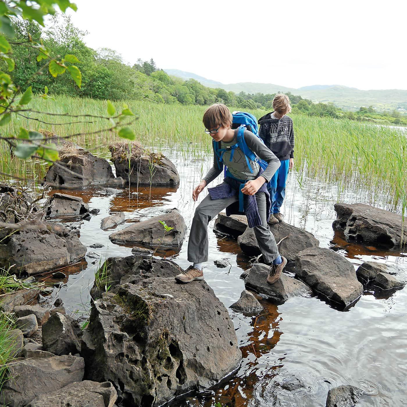Naturzeit-Reisetipps für Familien: Wandern mit Kindern // HIMBEER