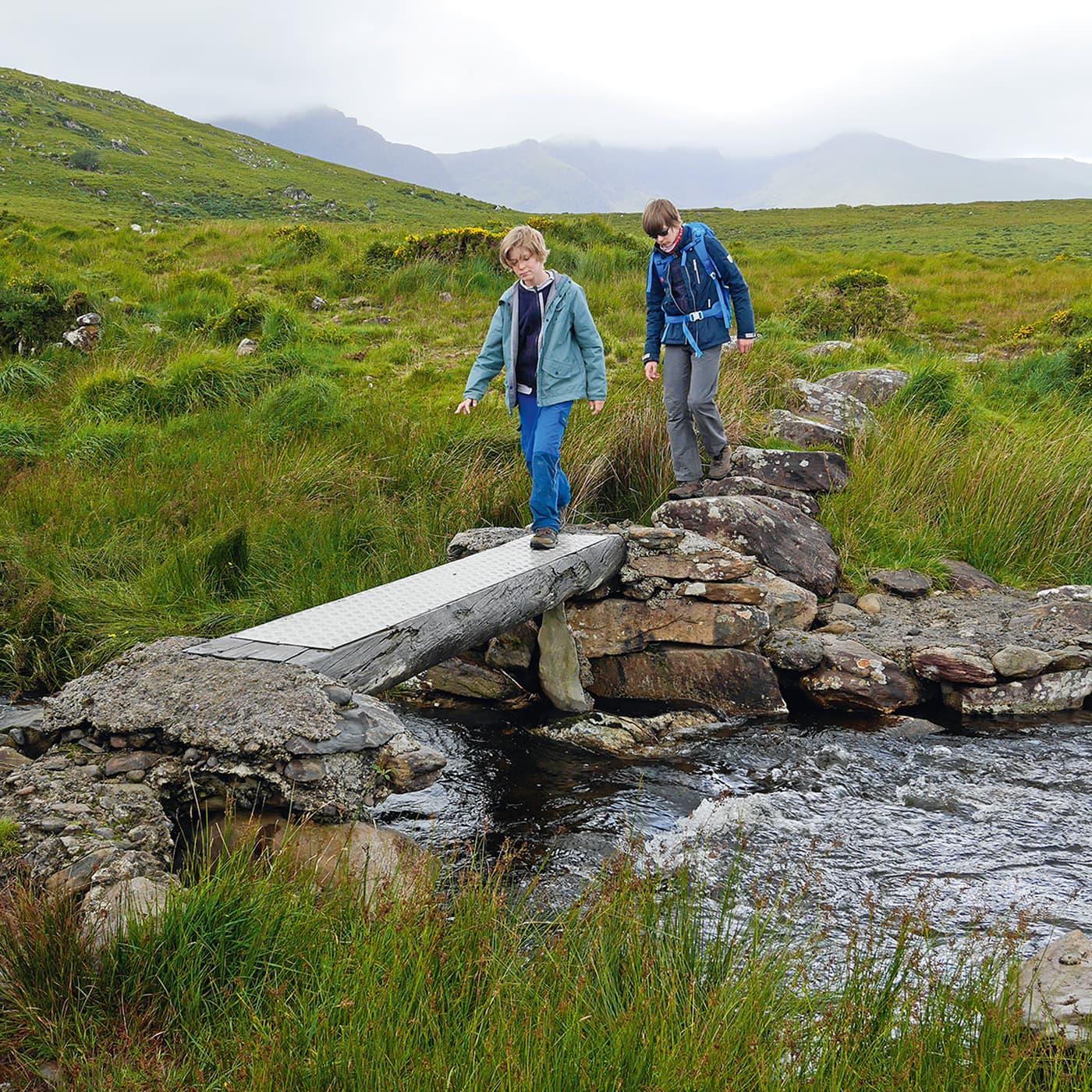 Naturzeit-Reisetipps für Familien: Irland mit Kindern // HIMBEER