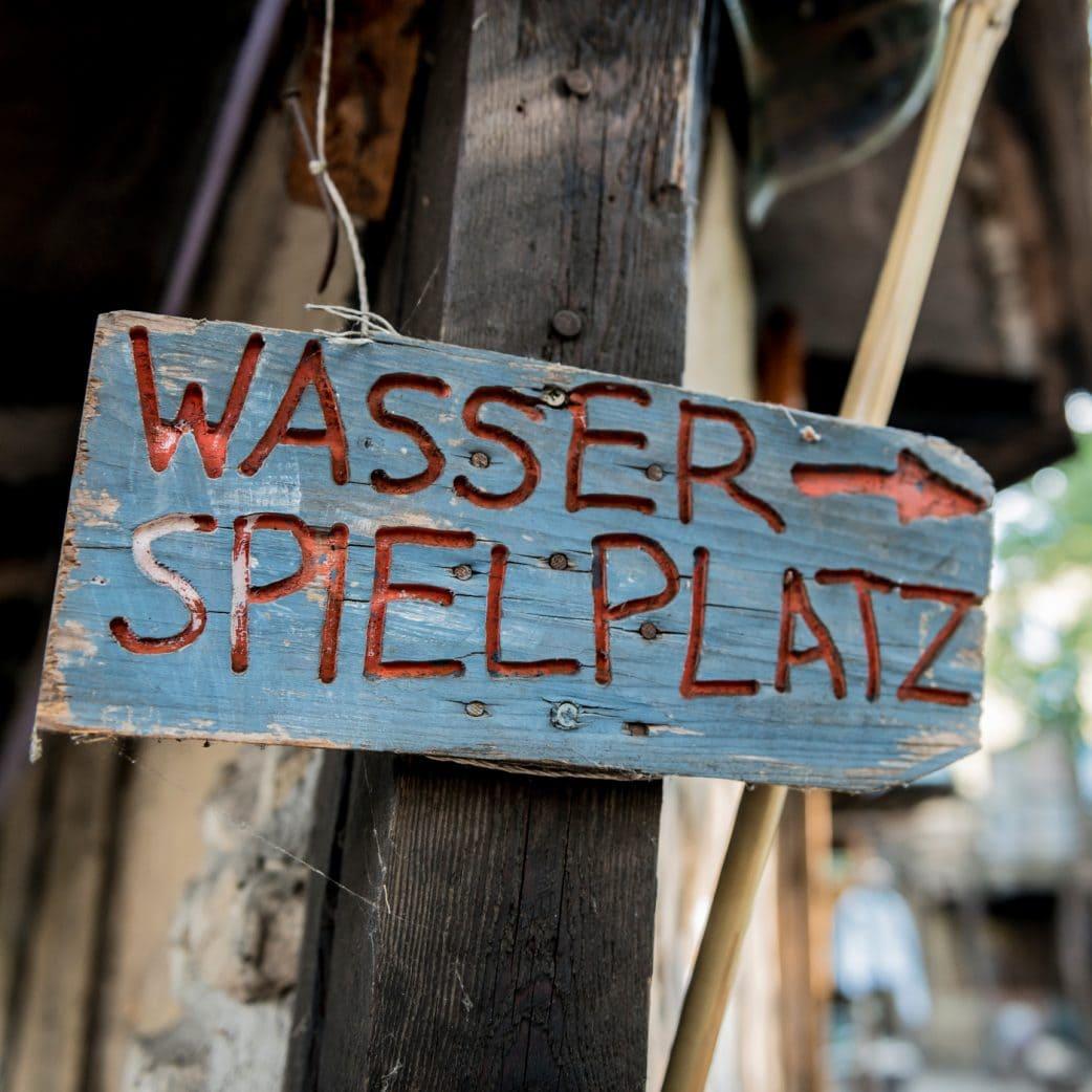 Stadtgestalten Berlin: Wasserspielplatz auf dem Kolle 37 // HIMBEER