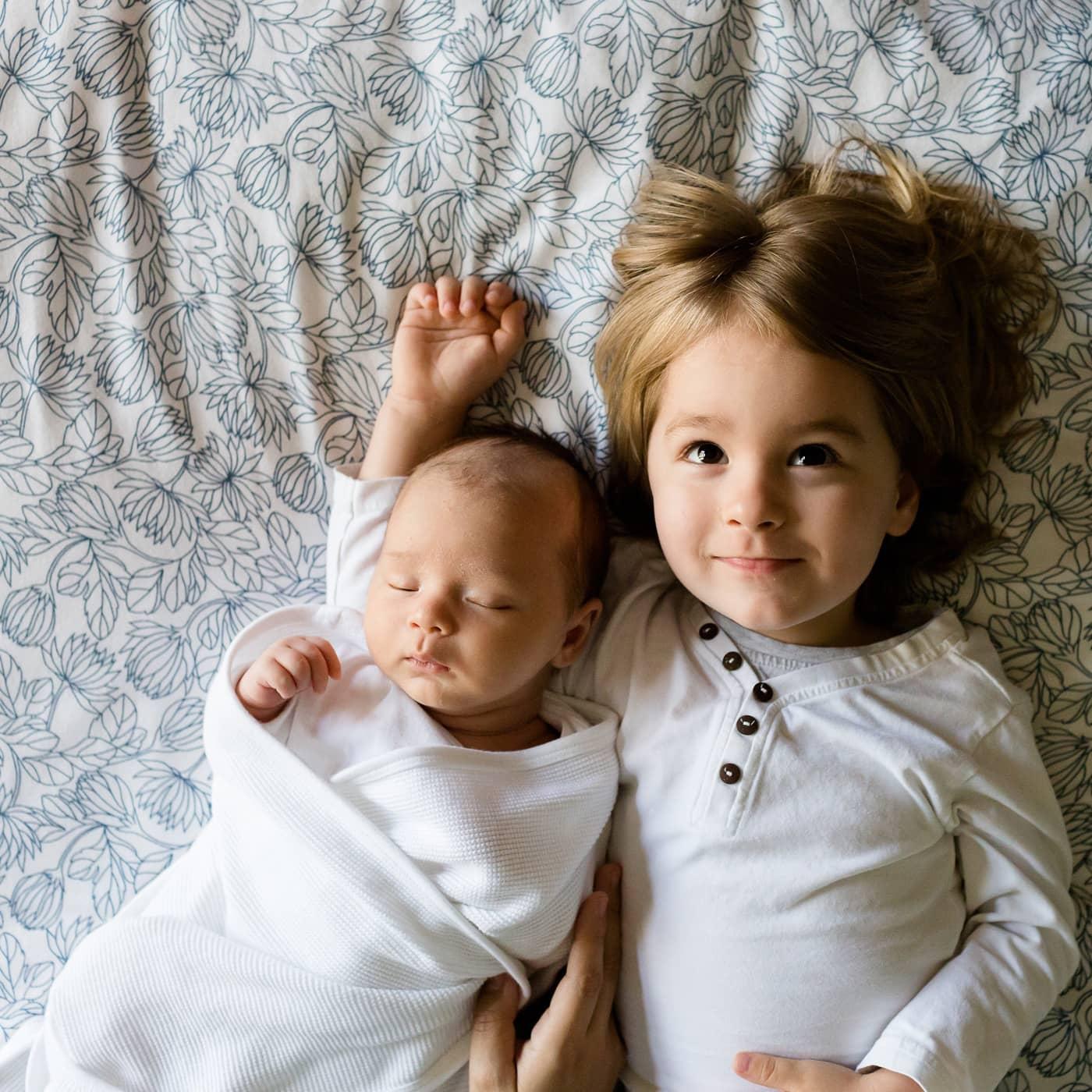 Baby und Geschwisterkind // HIMBEER