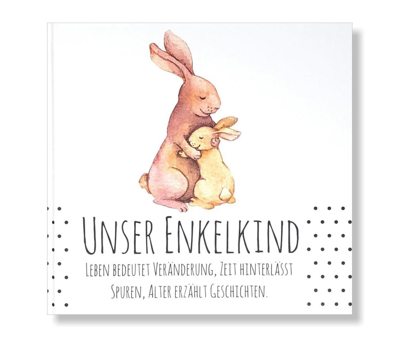 Geschenke zur Geburt: Tagebuch für frischgebackene Großeltern // HIMBEER