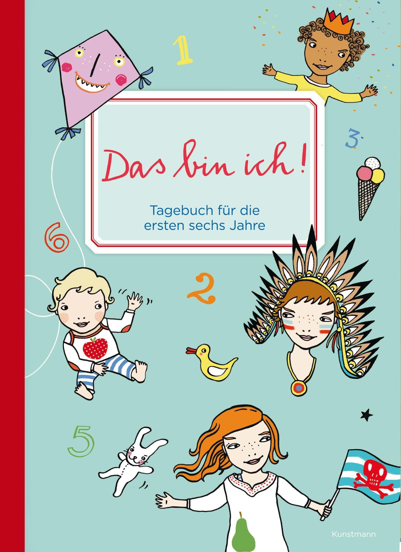Geschenke zur Geburt: Tagebuch für die ersten sechs Jahre von Silke Schmidt // HIMBEER