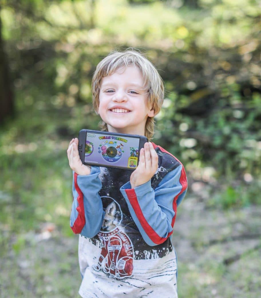 Smarte Kinder – Lernspiele auf dem Tablet // HIMBEER