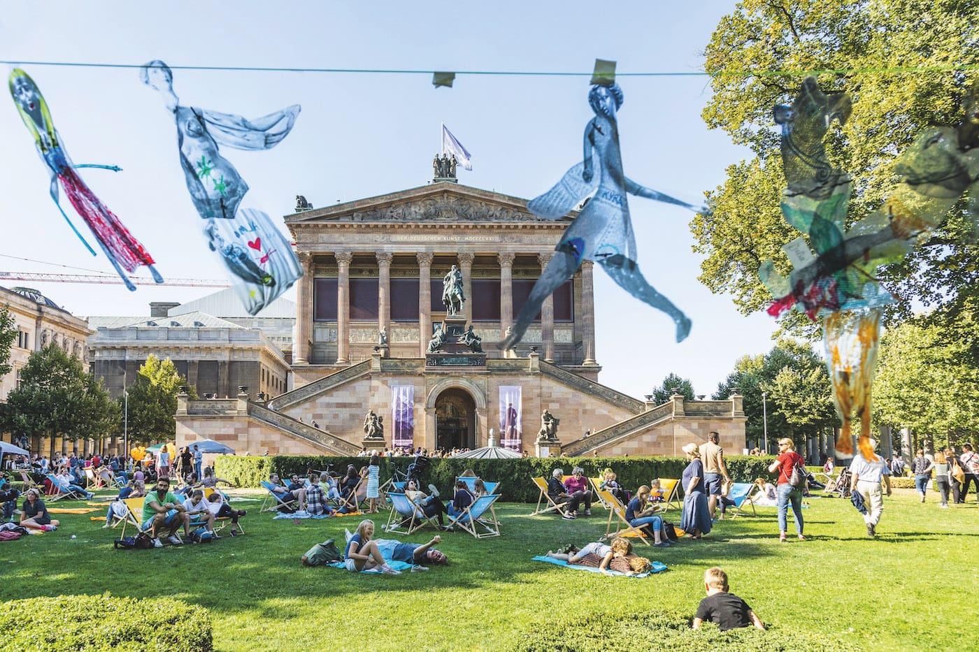 Aktionstag für Familien mit Kindern zur Eröffnung der James Simon Galerie // HIMBEER