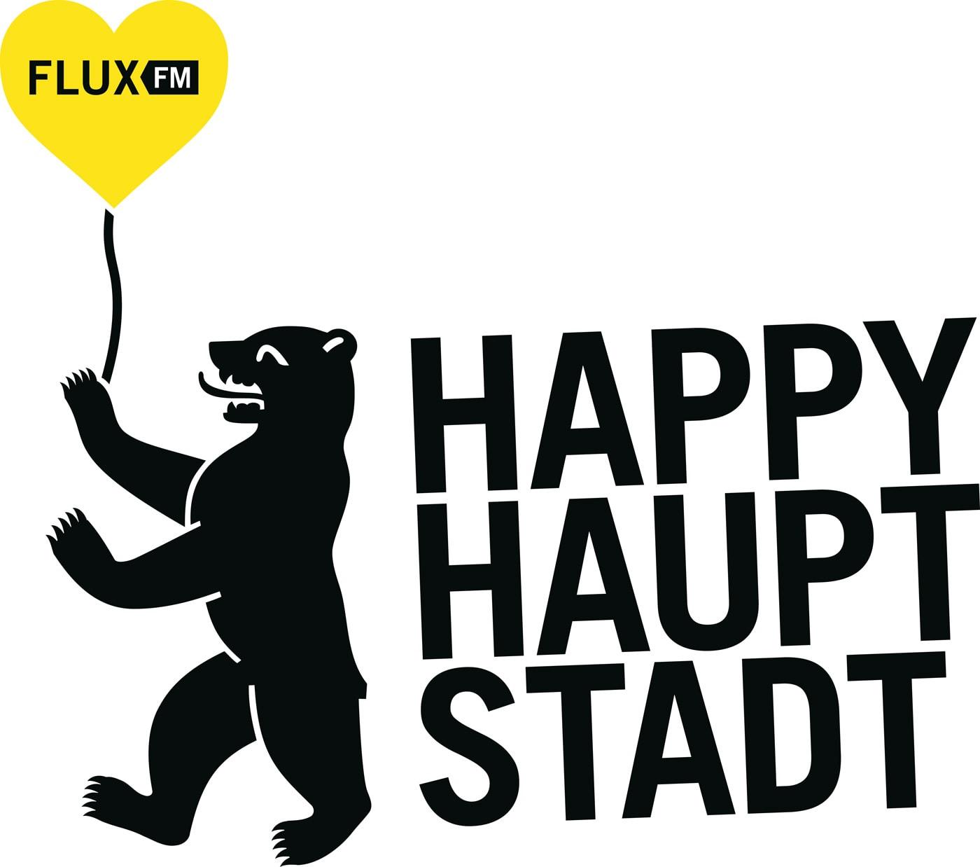 HAPPY HAUPTSTADT-Kampagne von FluxFM // HIMBEER