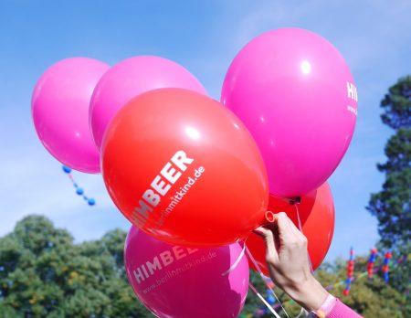 HIMBEER beim Kidzapalooza 2019: Luftballons // HIMBEER