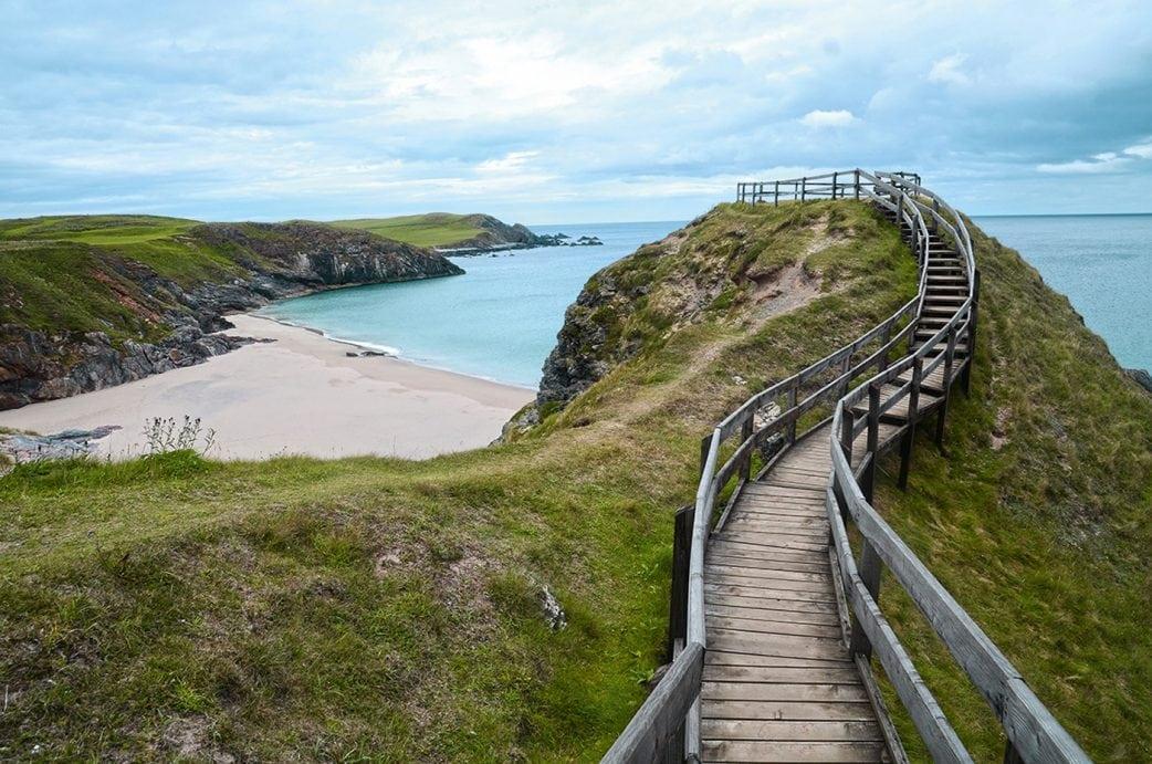 Familienurlaub in Schottland: Sango Sands // HIMBEER