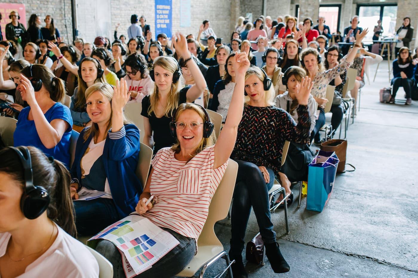 Publikum FFF DAY Edition F Berlin Empowerment // HIMBEER