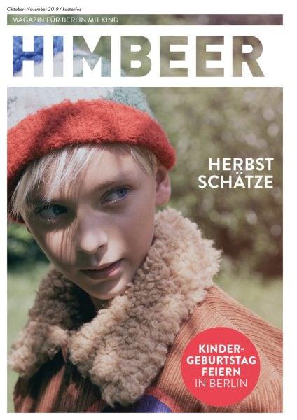 HIMBEER Magazin für Berlin mit Kind Oktober-November 2019: Herbstschätze // HIMBEER