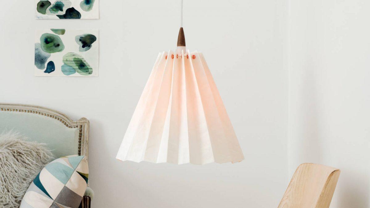 Lampenschirm aus SnapPap // HIMBEER