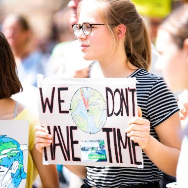 Fridays for Future Freitagsdemo mit Kind // HIMBEER