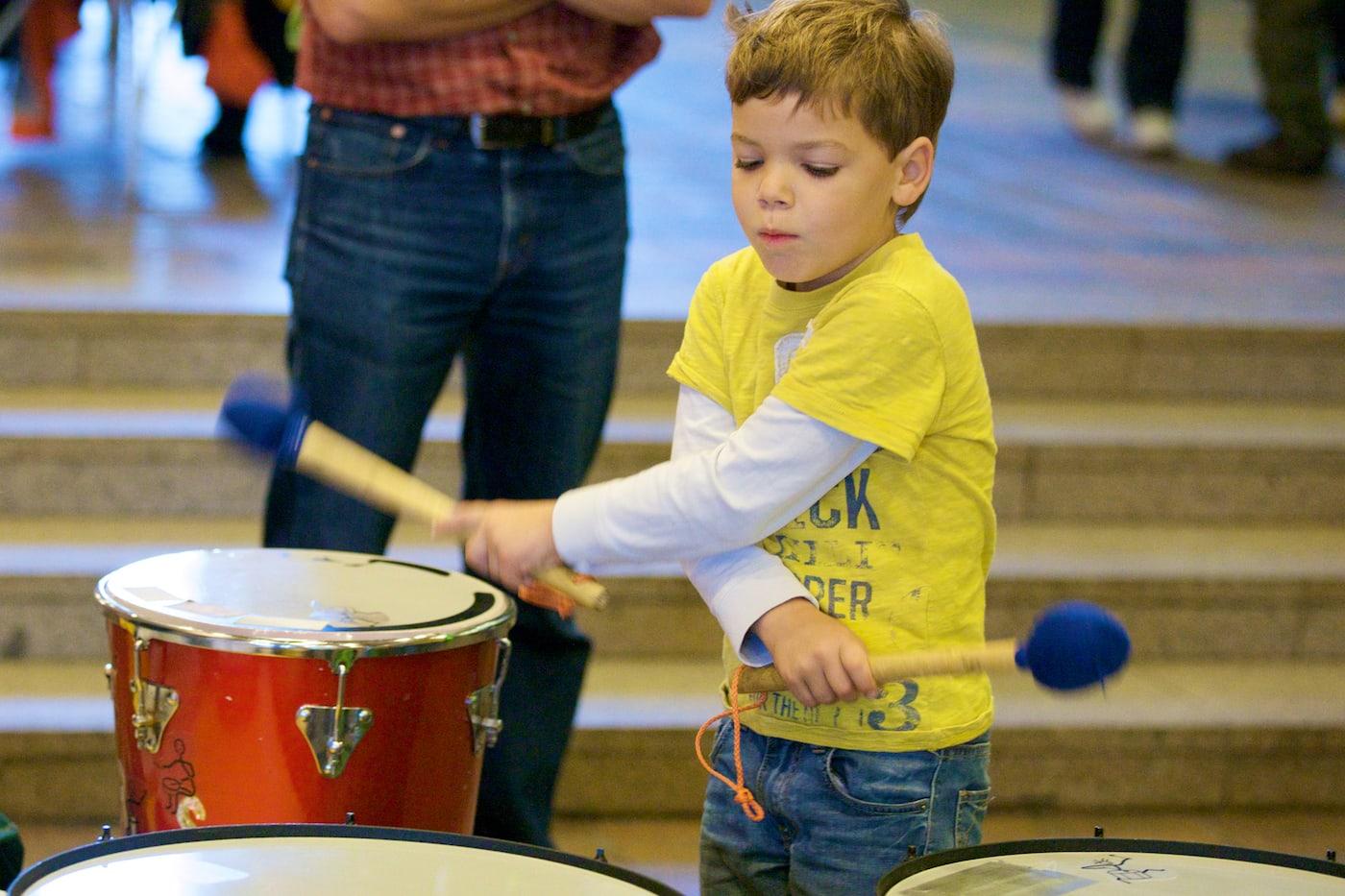 Samba Syndrom für Familien mit Kindern in Berlin // HIMBEER