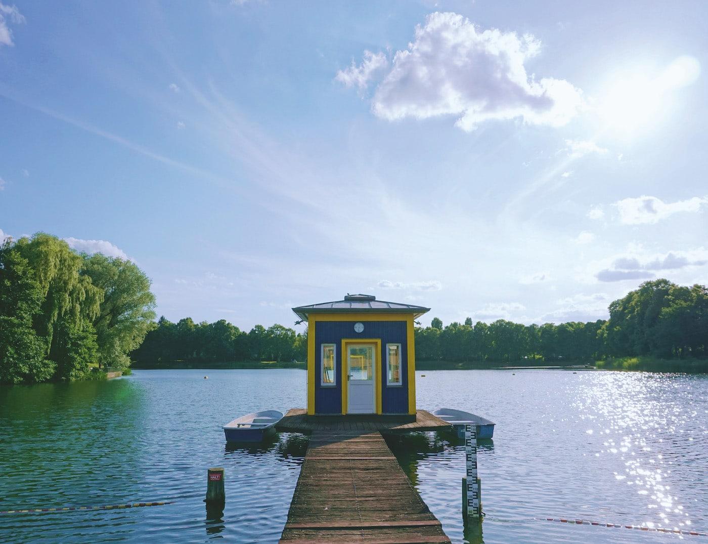 Seenfest am Orankesee für Familien mit Kindern in Berlin // HIMBEER
