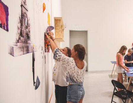 Kunst für Familien mit Kindern in der Berlinischen Galerie // HIMBEER