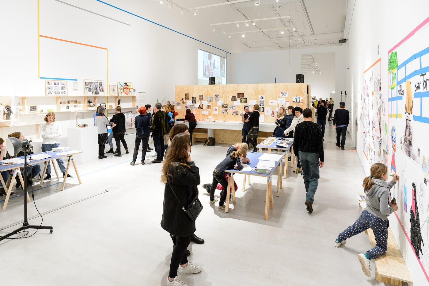 Kunst für Kinder in der Berlinischen Galerie // HIMBEER