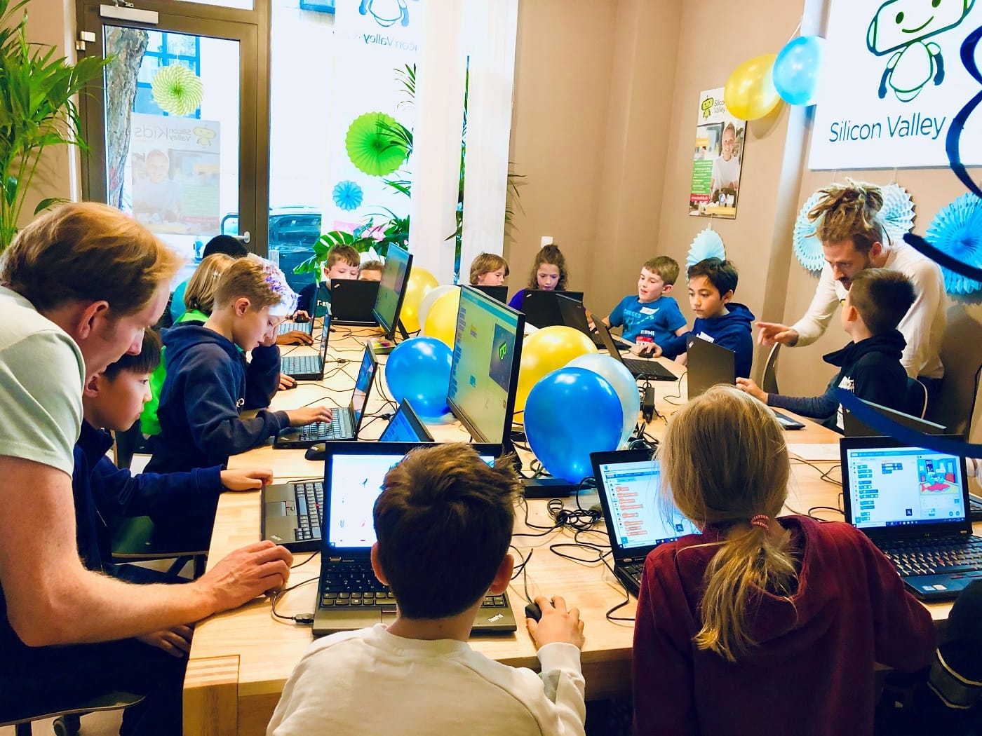 Coding-Kurse für Kinder in Berlin bei Silicon Valley Kids // HIMBEER