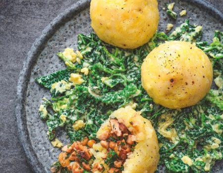 Gefüllte Kartoffelklöße // HIMBEER