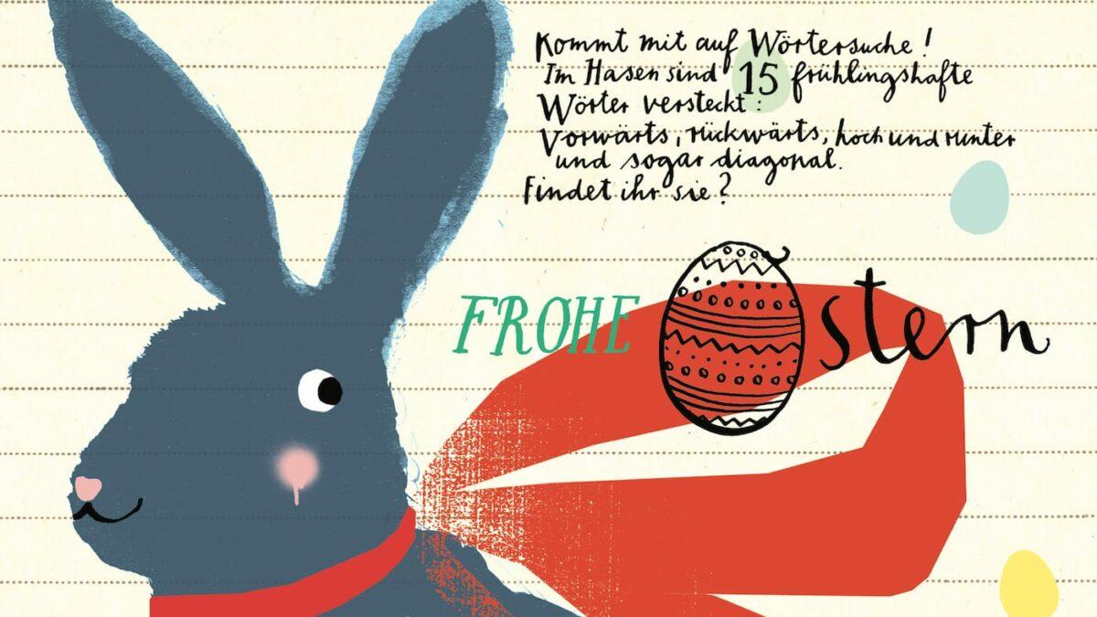 HIMBEERCHEN Kinderrätsel über den Osterhasen // HIMBEER