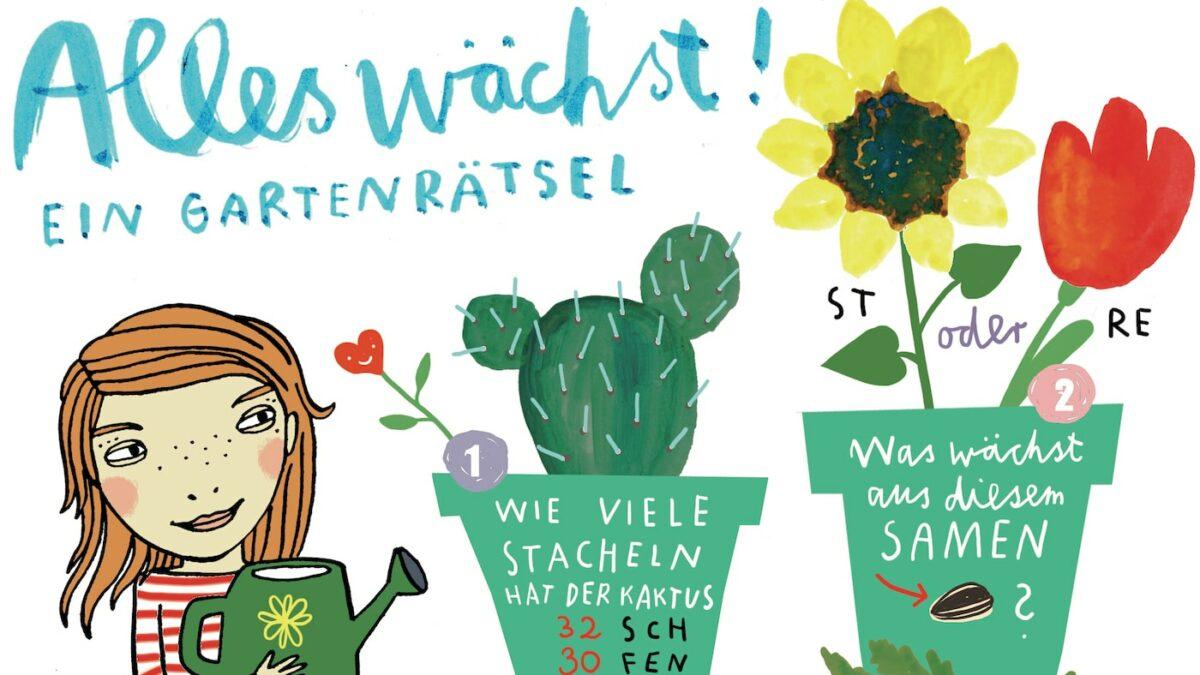 HIMBEERchen Kinderrätsel über Pflanzen // HIMBEER