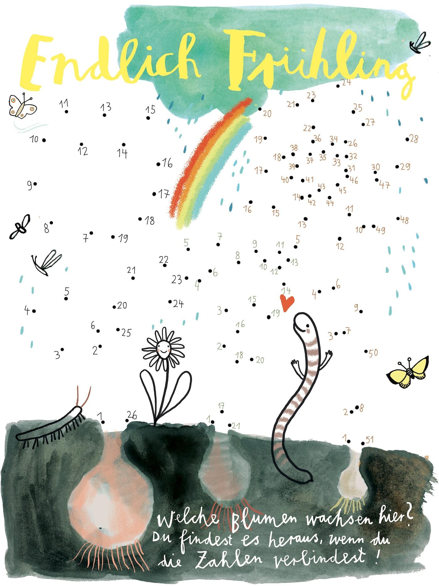 HIMBEERchen Kinderrätsel über wachsende Blumen // HIMBEER