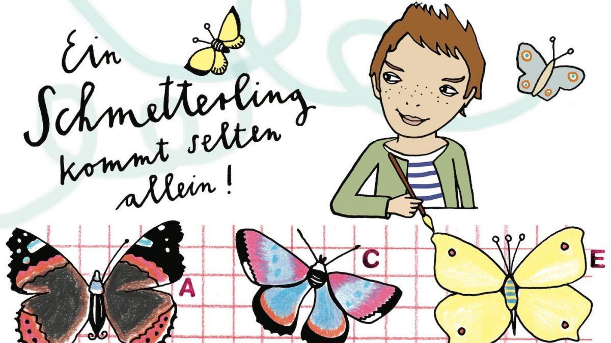 HIMBEERCHEN Kinderrätsel zu Schmetterlingen // HIMBEER