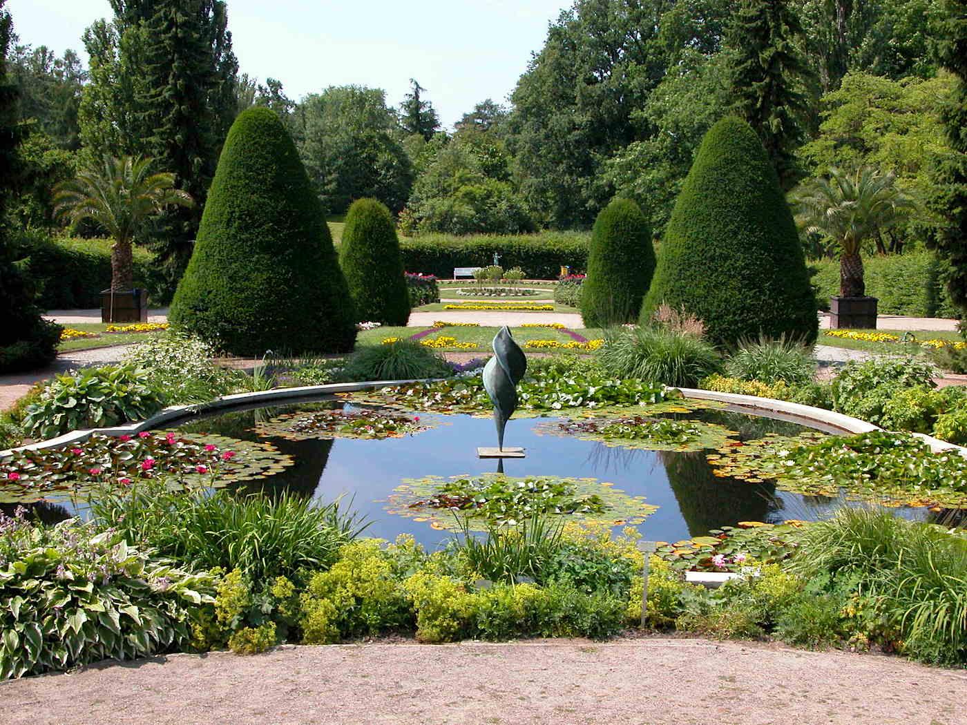Botanischer Garten Berlin Italienischer Garten Pflanzen // HIMBEER