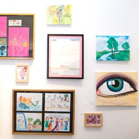 KLAX Kinderkunstgalerie: Ausstellung von Kinderkunst in Berlin // HIMBEER