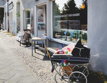 Bücherladen für Kinder Krumulus // HIMBEER