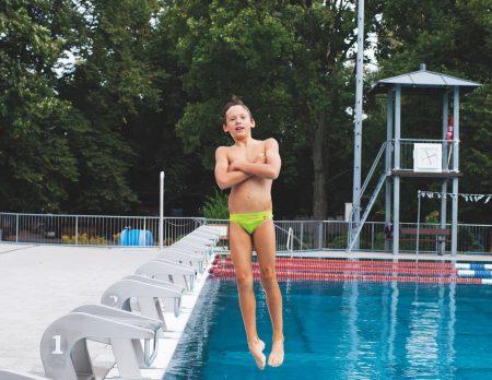 Schwimmen Kind Berlin Nina Lüth // HIMBEER