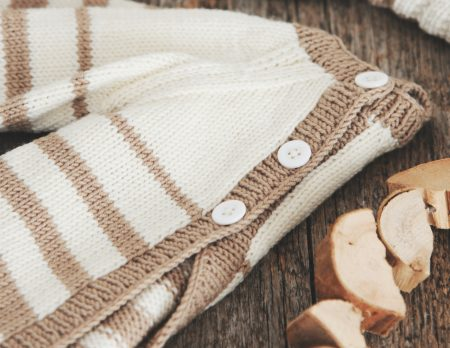 Pulloverjäckchen stricken // HIMBEER