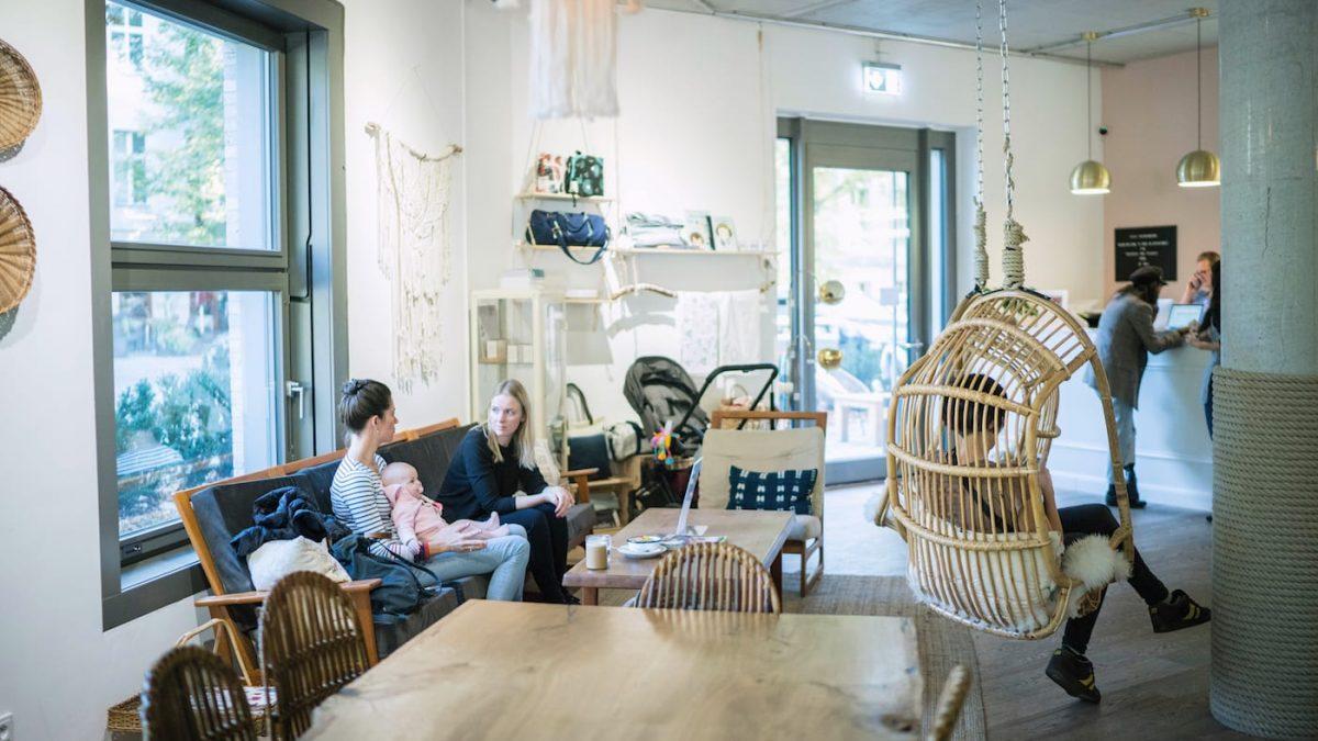 Wunderhaus – schönes Eltern-Kind-Café in Berlin-Prenzlauer Berg // HIMBEER