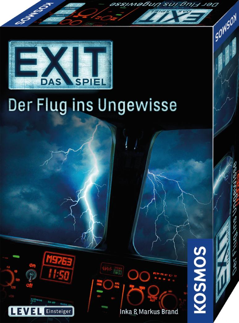 Escape-Room-Spiel über einen turbulenten Flug // HIMBEER