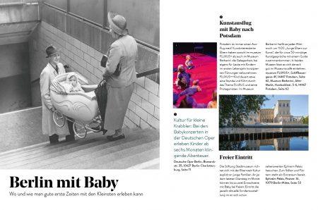 Familien-Freizeit-Guide BERLIN MIT KIND 2020, Blick ins Buch: Berlin mit Baby // HIMBEER