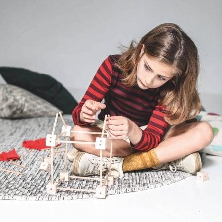 Gute Spielsachen für Kinder – kreatives Design-Bauspielzeug: Trgonos // HIMBEER