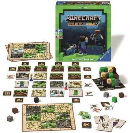 Gute Brettspiele für Kinder: Minecraft-Brettspiel // HIMBEER
