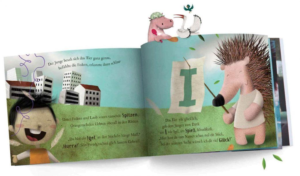 Personalisierte Bilderbücher von Wonderbly // HIMBEER