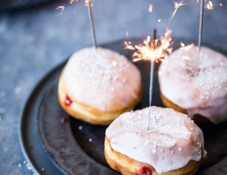 Pfannkuchen für Silvester // HIMBEER