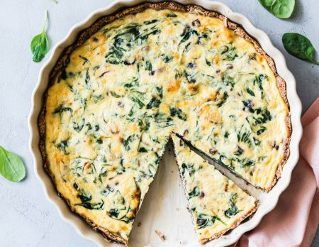 Spinat-Ricotta-Quiche backen // HIMBEER