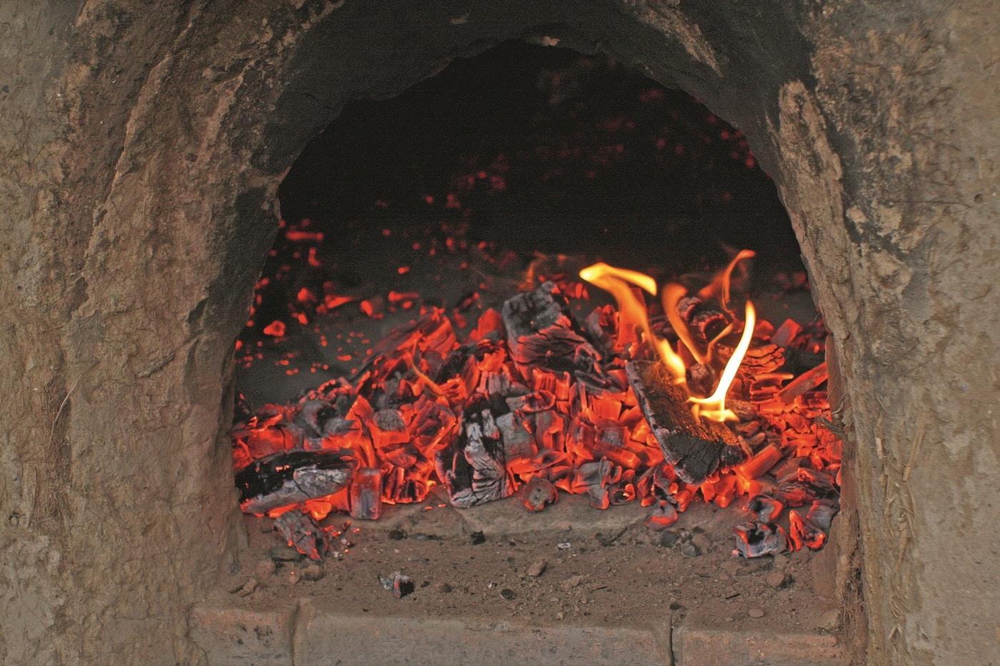 Warmes Feuer im Ofen // HIMBEER