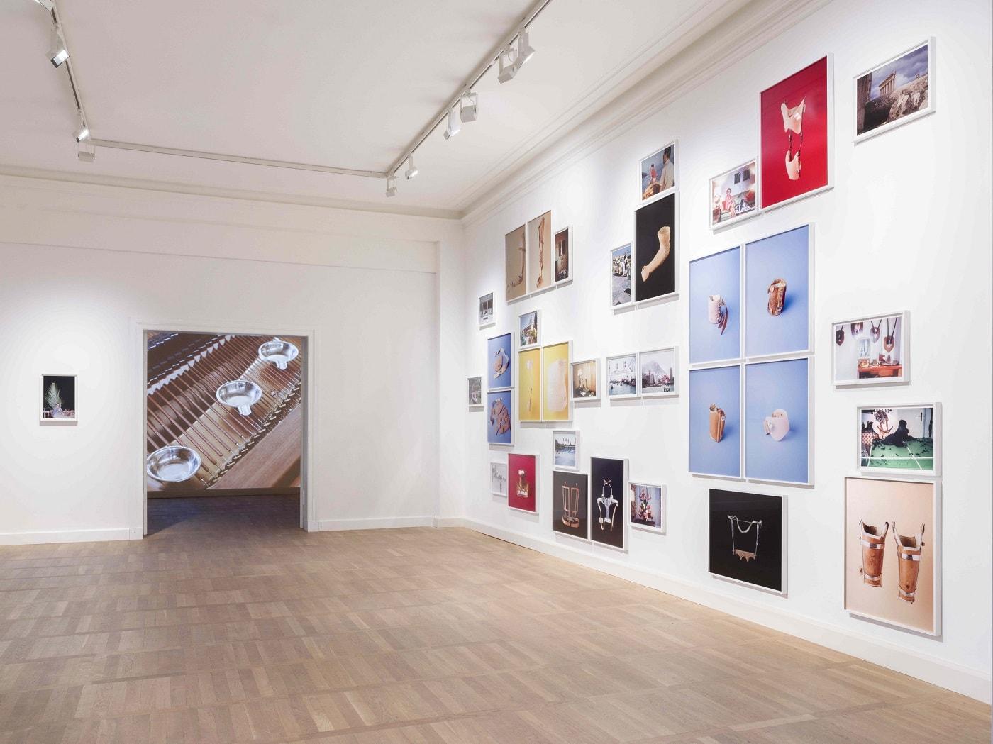 Fotos von Johanna Diehl in der Ausstellung im Haus am Waldsee // HIMBEER