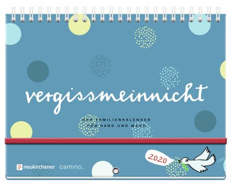 Weihnachtsgeschenk: Familienkalender, Wandkalender 2020 von Silke Schmidt // HIMBEER
