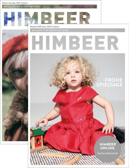 Familienmagazin HIMBEER für Berlin mit Kindern // HIMBEER