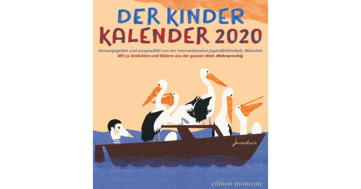 Schöne Kinderkalender und Familienkalender 2020: Der KINDER KALENDER 2020 – preisgekrönt vom Deutschen Buchhandel // HIMBEER